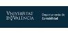 Universidad de Valencia. Departamento de Contabilidad