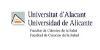 Universidad de Alicante Ciencias de la Salud (UA)