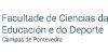 Facultad de Ciencias de la Educación y del Deporte. Campus Pontevedra (UVI)