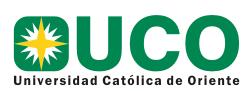 Universidad Católica de Oriente -  FACULTAD DE CIENCIAS AGROPECUARIAS
