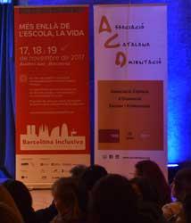 El Congreso Barcelona Inclusiva 2017 concluye con el lema 'Nada sobre nosotros, sin nosotros'