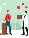 Los profesionales de la salud y la logística, entre los más solicitados en el confinamiento