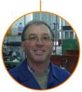 El profesor del CFGM en Mecanizado