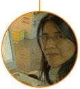 La estudiante del CFGS en Laboratorio de Análisis y Control de Calidad