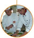 L'estudiant del CFGM en Cuina i Gastronomia