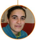 La estudiante de Trabajos Forestales y Conservación del Medio Natural