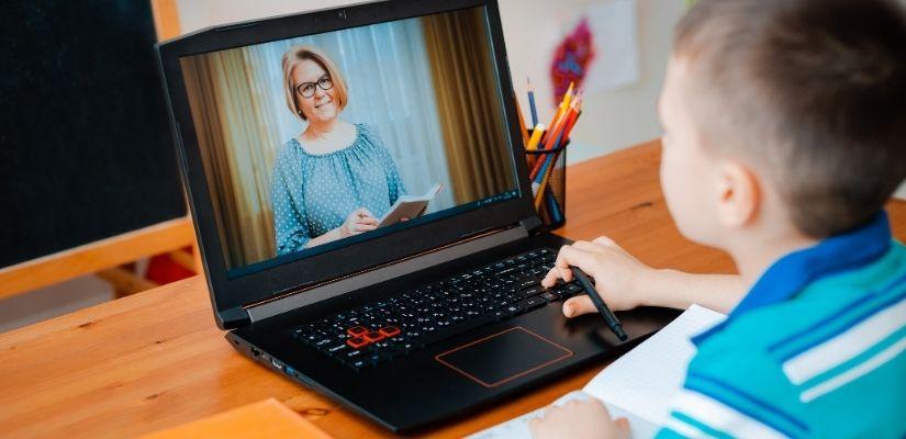 educación online durante la pandemia
