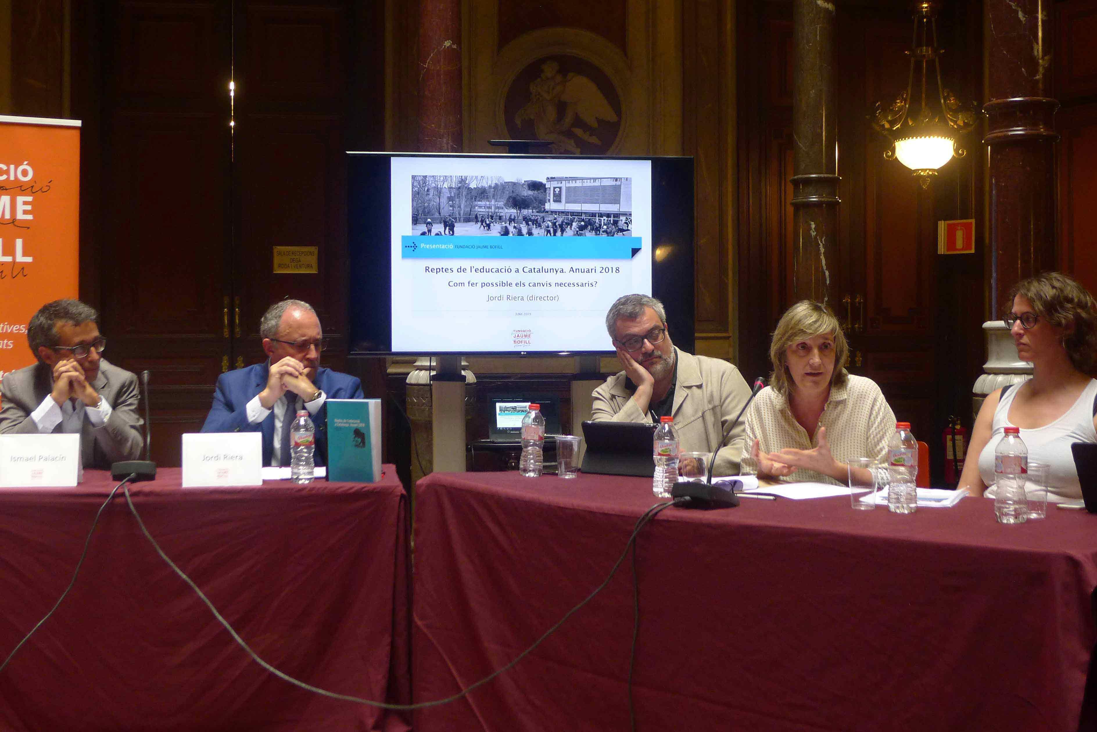 Presentación anuario de la Fundación Jaume Bofill