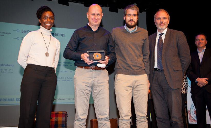 Ganadores Premios Educaweb 2019 categoría Empresas