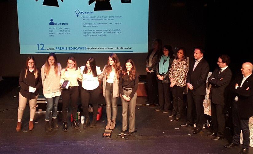 Ganadoras Premios Educaweb 2019 categoría Menores de 35 años con proyectos no aplicados