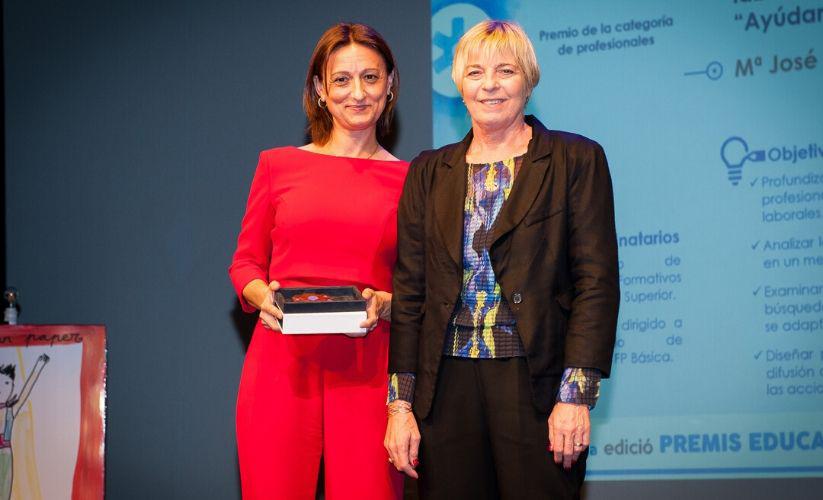 Ganadores Premio Educaweb 2019 categoría Profesionales