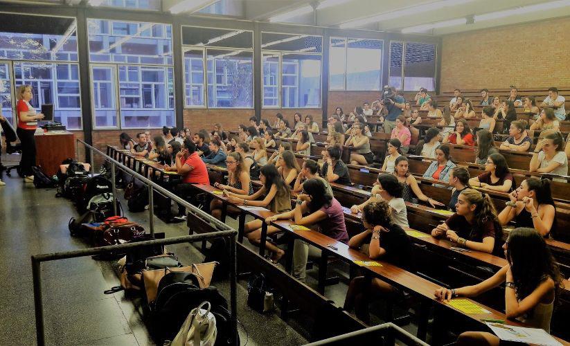 Imagen de la selectividad en Catalunya del curso 2018-2019